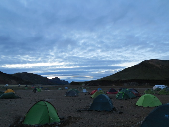 Landmannalauger at 2:30 am