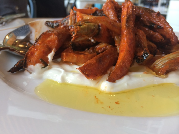 whale wins: roasted carrot & fennel salad//wanderaven