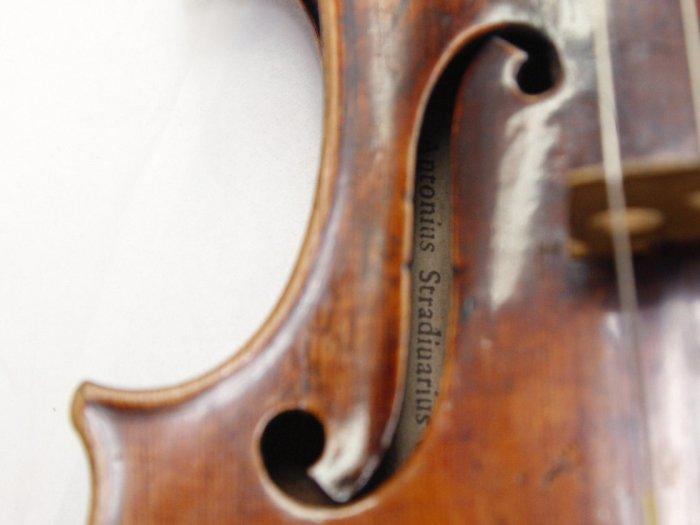 strad just a violin?