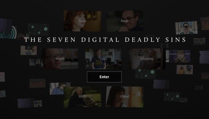 seven deadly sins//wanderaven