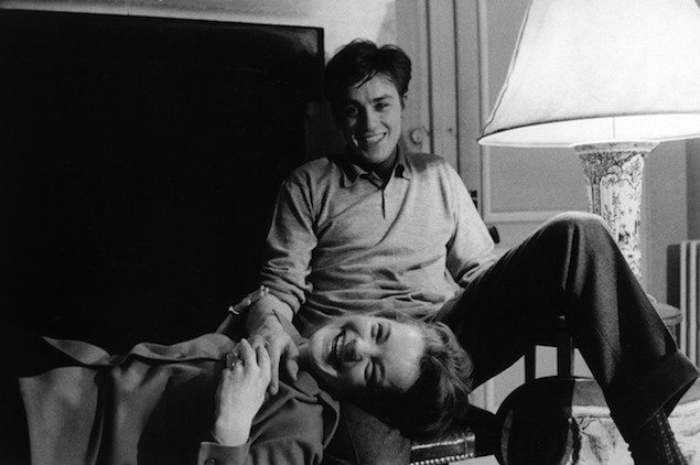 Alain Delon And Romy Schneider (When is One Ready to Get Married?)//wanderaven