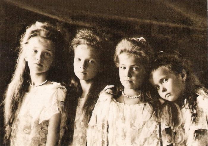 romanov sisters//wanderaven
