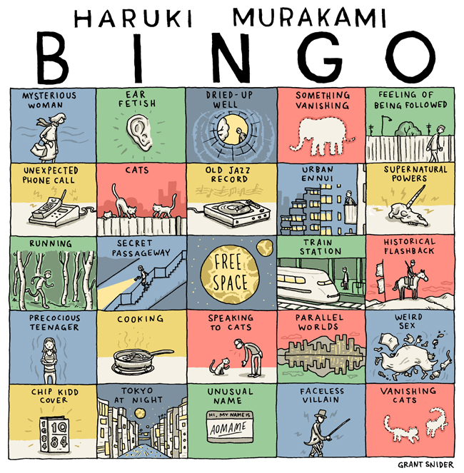 murakami binco (incidental comics)//wanderaven